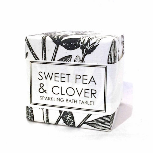 FORMULARY 55 – Sweet Pea & Clover Bath Fizzy